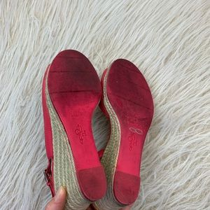 Cole Haan Shoes - Cole Haan Adelaide espadrille sandal wedge pink 7